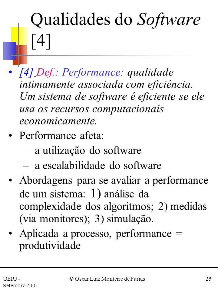 Qualidades do Software [4]